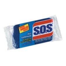 "1"" All Purpose Scrubber Sponge in Dark Blue / Light Blue (Set of 12)"