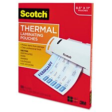 Thermal Laminating Pouches (Pack of 100)