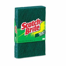 Heavy-Duty Scour Pad (Pack of 3) (Set of 3)