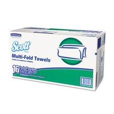 Folded 1-Ply Paper Towels - 4000 per Carton
