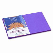 Sunworks Construction Paper, 58 Lbs., 12 X 18, 50 Sheets/Pack (Set of 2)