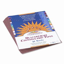 Riverside Construction Paper, 58 Lbs., 50 Sheets/Pack (Set of 4)
