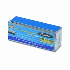 35450 S.F. 4 Premium Chisel Point Full Strip Staples, 5000/Box (Set of 2)