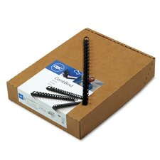 GBC Standard 90-Sheet CombBind Spines (Pack of 100)