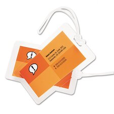 GBC HeatSeal Luggage Tag Laminating Pouch (Pack of 25)