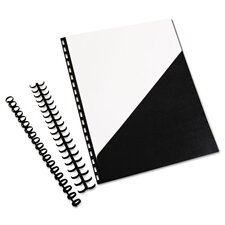 GBC ZipBind Prepunched Pocket Folders (Pack of 10)