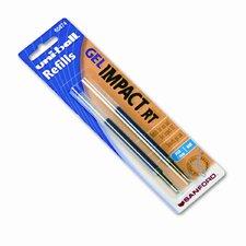 Refill for Gel Impact RT Roller Ball Pens, 2/Pack (Set of 3)