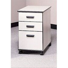 Solutions 3-Drawer Mobile File Cabinet