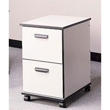 Solutions 2-Drawer Mobile File Cabinet