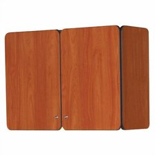 """Illusions 24"""" H x 36"""" W Wall Mounted Cabinet with Doors"""