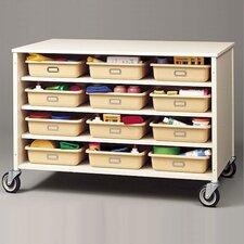 24 Tray Storage Cart