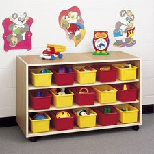Koala-Tee 30 Compartment Double Sided Mobile Storage Cabinet with Optional Trays