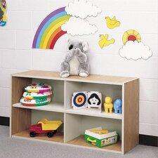 Koala-Tee Four Cubby Storage Shelves
