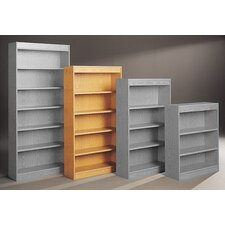 "Library Double Sided 72"" Standard Bookcase"