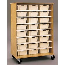 Encore Single Sided 8 Compartment Cubby