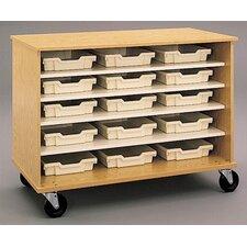 """36"""" H Encore Single Sided Shelf Cabinet"""