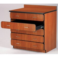 """Illusions 30"""" Base Drawer Cabinet with Four Drawers"""