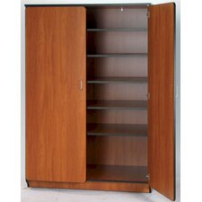 """Illusions 72"""" Teacher Shelf/Drawer Cabinet with Five Adjustable Shelves"""