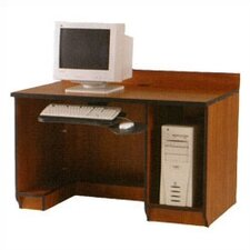 Illusions Student Computer Workstation with Keyboard and CPU Storage