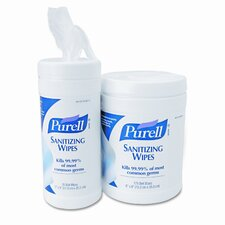 Sanitizing Hand Wipes, 270 Wipes/Canister