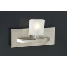 Wyndham  Wall Sconce in Satin Nickel