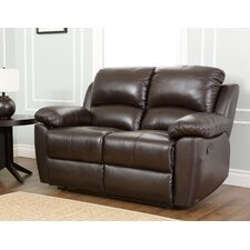 Westwood Leather Reclining Loveseat