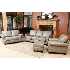 Barnard 4 Piece Sofa, Loveseat, Armchair, and Ottoman Set