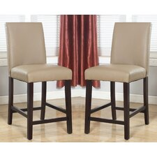"25"" Bar Stool with Cushion (Set of 2)"