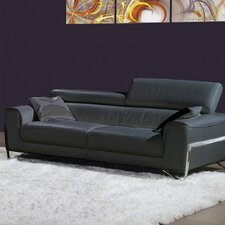 Flynt Leather Sofa