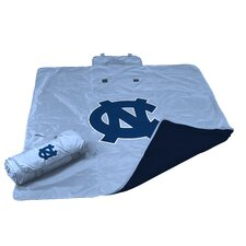 NCAA North Carolina All Weather Fleece Blanket