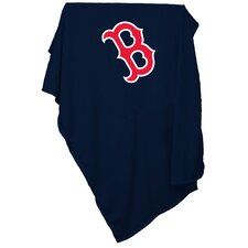 MLB Boston Red Sox Sweatshirt Blanket