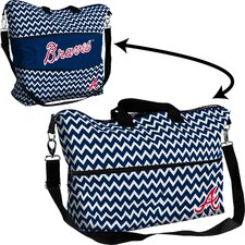 MLB Chevron Expandable Tote