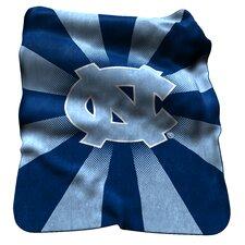 NCAA North Carolina Raschel Throw