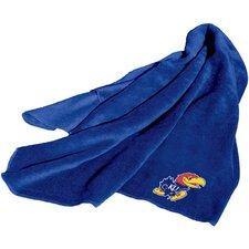 NCAA Kansas Fleece Throw