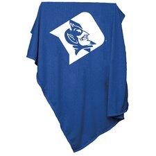 NCAA Duke Sweatshirt Blanket
