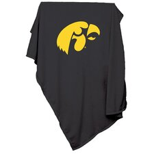 NCAA Iowa Sweatshirt Blanket