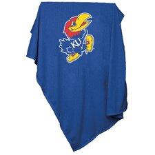 NCAA Kansas Sweatshirt Blanket