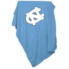 NCAA North Carolina Sweatshirt Blanket