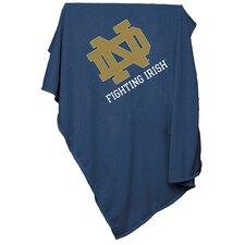 NCAA Notre Dame Sweatshirt Blanket