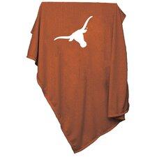 NCAA Texas Sweatshirt Blanket