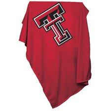 NCAA Texas Tech Sweatshirt Blanket