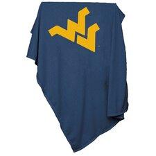 NCAA West Virginia Sweatshirt Blanket