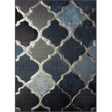 Avon Navy Area Rug