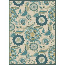 Cambridge Aqua Area Rug