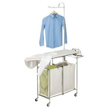 Foldable Ironing Laundry Center & Valet