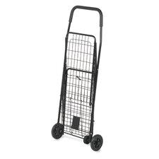 """37.5"""" Rolling Shopping Cart"""