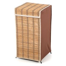 Tall Wicker Hamper