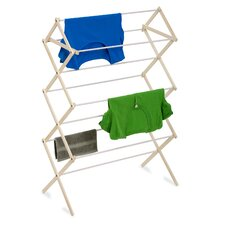 Wood Folding Clothes Drying Rack