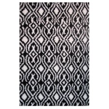 Touch Black/White Indoor Area Rug