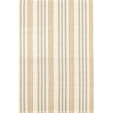 Olive Branch Stripe Beige Area Rug